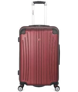 Чемодан Wenger 6171121165 Ridge бордовый, АБС-пластик, 42х28х65 см , 60л.