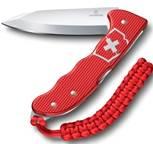 Нож охотника Victorinox 0.9415.20 Hunter Pro M Alox 130 мм (красная рукоять) + подвеска и клип