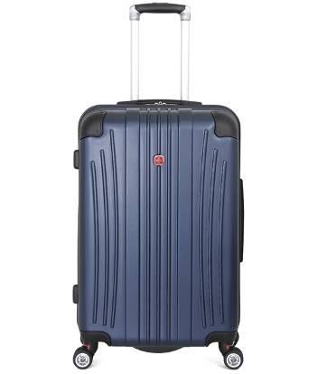 Чемодан Wenger 6171003167 Ridge синий, АБС-пластик, 42х28х65 см , 60л.
