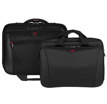 """Мобильный офис WENGER 15,4"""" 600661 черный на колесах, с сумкой для ноутб, полиэстер 44х25х42 см, 23"""