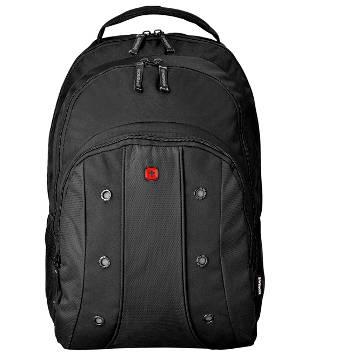 """Рюкзак Wenger 64081001 с отделением для ноутбука 16"""", чёрный 35 x 25 x 46 см, 25 л."""