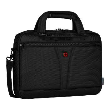 "Сумка Wenger 606462 для ноутбука 14"" черный, баллистический нейлон, 38х10х22 см, 8 л"