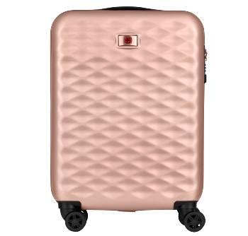 Чемодан Wenger Lumen 606496 розовый, поликарбонат, 40х20х55 см, 32 л