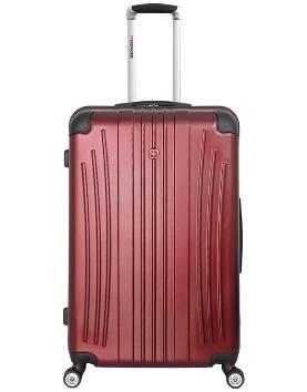 Чемодан Wenger 6171121175 Ridge бордовый, АБС-пластик, 47х30,5х75 см , 92л