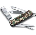 Нож-брелок Victorinox 0.6463.94 NailClip 580, 65 мм, камуфляж