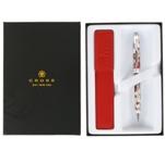 Набор Шариковая ручка Cross Botanica Красная Колибри и чехол (AT0642-3/472)