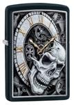 Зажигалка Zippo 29854 Skull Clock Design