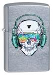 Зажигалка Zippo 29855 Skull Headphone Design