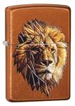 Зажигалка Zippo 29865 Polygonal Lion Design ZIPPO