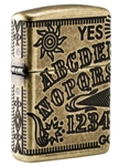 Зажигалка Zippo 49001 Armor™ Ouija Board