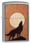 Зажигалка Zippo 49043 WOODCHUCK USA Wolf