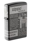 Зажигалка Zippo 49049 Newsprint Design ZIPPO