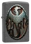 Зажигалка Zippo 49072 Metal Dragon Shield