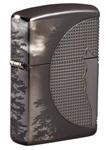 Зажигалка Zippo 49353 Armor™ Wolf Design с покрытием High Polish Black Ice®