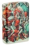 Зажигалка Zippo 49392 Design с покрытием White Matte