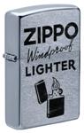 Зажигалка Zippo 49592 Zippo Windproof с покрытием Street Chrome