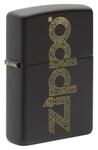 Зажигалка Zippo 49598 Zippo Design c покрытием Black Matte