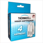 Набор запасной ThermaCELL Butane-Twin Pack C4 (4 баллончика) 48часов