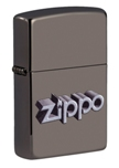 Зажигалка Zippo 49417 Lion Design Black Ice