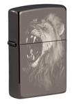 Зажигалка Zippo 49433 Lion Design Black Ice®