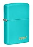 Зажигалка Zippo 49454ZL Classic Flat Turquoise ZIPPO