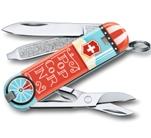 Нож-брелок Victorinox 0.6223.L1910 Let It Pop!  58мм