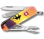"Нож-брелок Victorinox 0.6223.L2004 Classic ""Climb High"" 58мм"