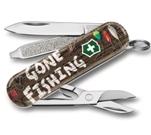"""Нож-брелок Victorinox 0.6223.L2005 Classic """"Gone Fishing"""" 58мм"""