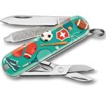 "Нож-брелок Victorinox 0.6223.L2010 Classic ""Sports World"" 58мм"