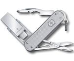 Нож-брелок Victorinox 4.6261.26G16 Victorinox@work с USB-модулем 16 Гб, 58мм, серебристый