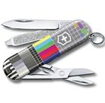 "Нож-брелок Victorinox 0.6223.L2104 Classic ""Retro TV""  58мм"