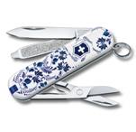 """Нож-брелок Victorinox 0.6223.L2110 Classic """"Porcelain Elegance""""  58мм"""
