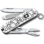 "Нож-брелок Victorinox 0.6223.L2105 Classic ""Cubic Illusion""  58мм"