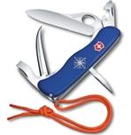 Нож Victorinox 0.8503.2MW Skipper Pro 111мм, синий