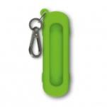 """Чехол Victorinox (для ножа 58мм) 4.0453 """"Sunny Side"""" силиконовый, зелёный, с карабином"""