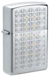 Зажигалка Zippo 49570 Sand Dollar Pattern с покрытием Satin Chrome